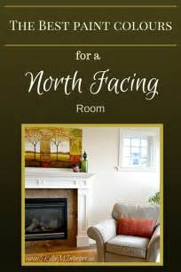 the best paint colours for a facing or northern exposure cold room warm colors