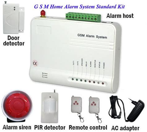 alarm systems 16 wireless 3 wired zone gsm alarm