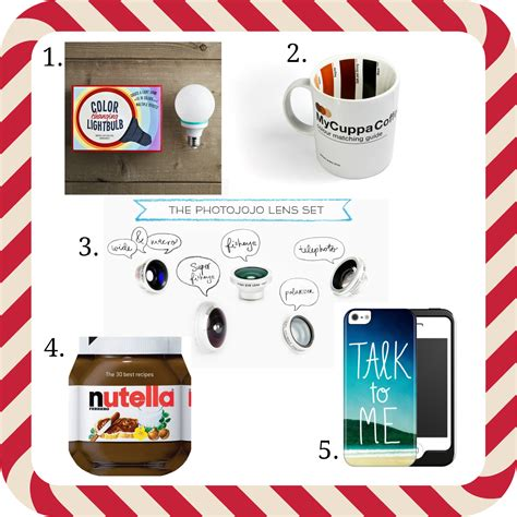 secret presents 5 great secret santa gifts for 35 quality rivets