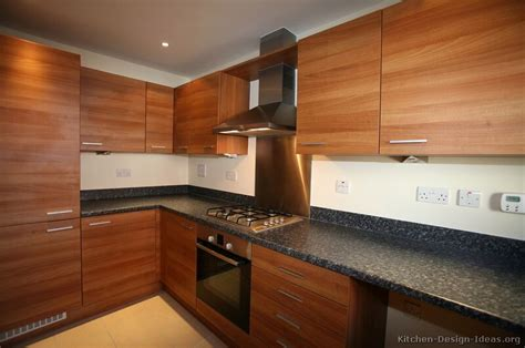 modern wood kitchen cabinets pictures of kitchens modern medium wood kitchen cabinets
