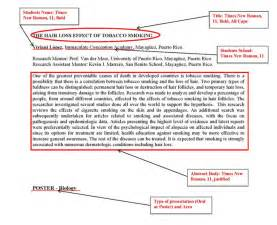 apa abstract template abstract format