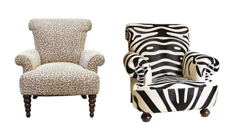 Printed Living Room Chairs by Animal Print Living Room Furniture Daodaolingyy