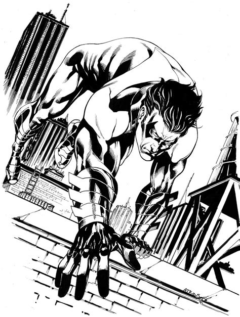 Free Printable Nightwing Coloring Pages For Kids Nightwing Coloring Pages