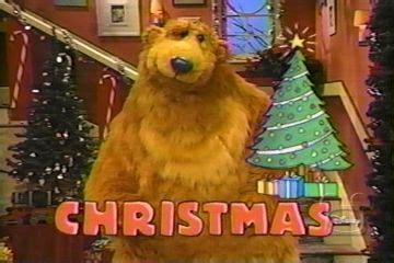 bear inthe big blue house a berry bear christmas bear inthe big blue house christmas christmas decore