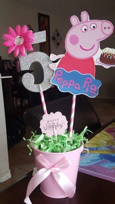 hacer con globos la pepa centros de mesa peppa pig dale detalles