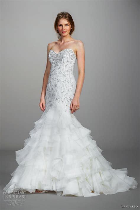 liancarlo wedding dresses spring 2013 wedding inspirasi