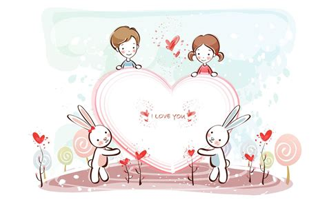 wallpaper sweet couple cartoon sweet couple anime wallpapers wallpaper cave