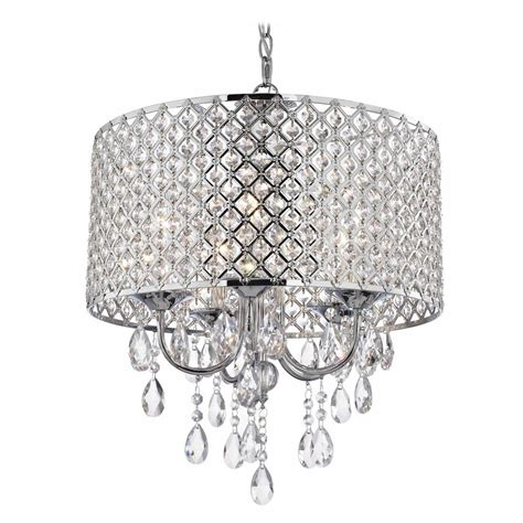 Beaded Pendant Light Shade Chrome Chandelier Pendant Light With Beaded Drum Shade 2235 26 Destination