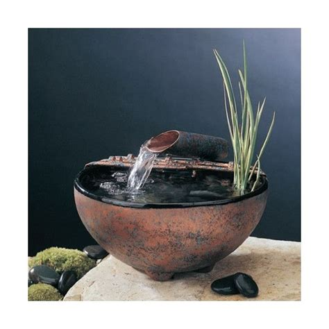 ceramic nature bowl tabletop fountain  images