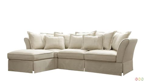 cottage sectional sofa chaise ottoman cottage sectional sofa shop factory direct