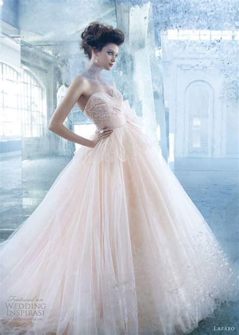 lazaro 2013 wedding dresses wedding inspirasi