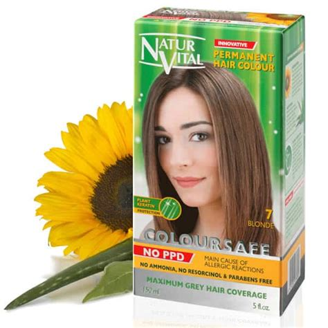 ppd free hair color ppd free hair dye naturvital coloursafe golden no