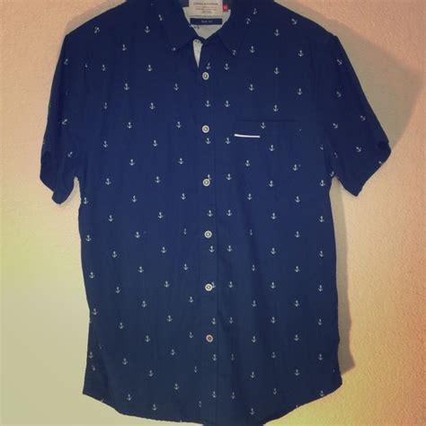 Dress Cool Denim Flower denim and flower mens shirts is shirt