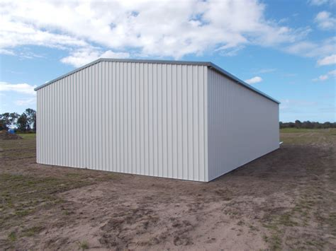 Colorbond Shed by Just Built Colorbond Shed Welcome Creek