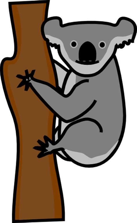 clipart koala koala clip at clker vector clip