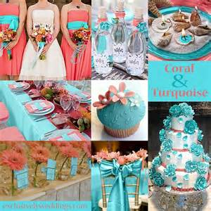 what colors go with aqua what color goes with turquoise for a wedding style