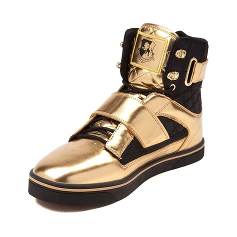 gold athletic shoes mens vlado atlas ii metallic athletic shoe gold 96394002