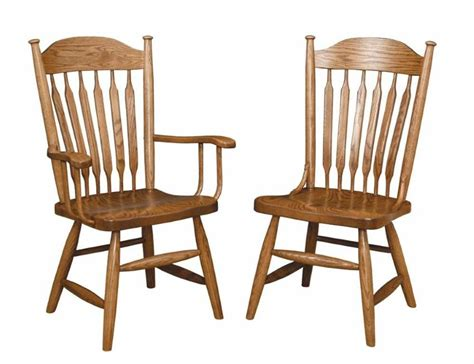 unfinished wood dining room chairs popular amish dining