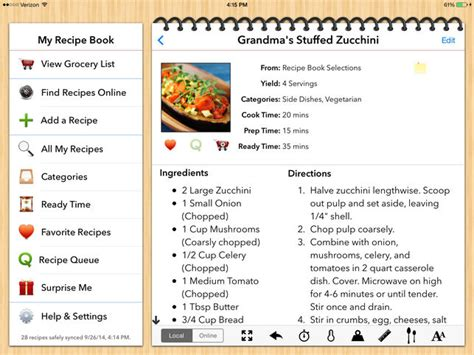 recipe card template app my recipe book your recipes finally organized on the