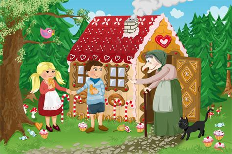 Michaela Heimlich Hansel and Gretel fairy tale series Poster   Posterlounge