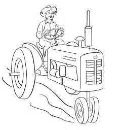 free coloring pages of garden tractor