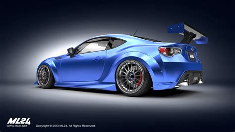 subaru brz wide ml24 automotive design prototyping and kits