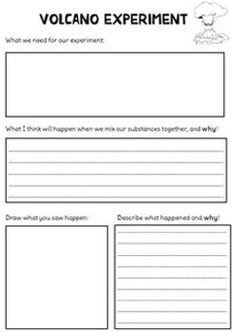 Lava L Experiment Worksheet 1000 images about volcanoes on school buses