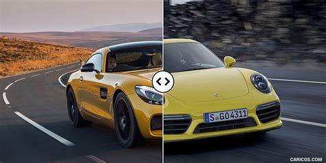 mercedes amg gt s vs porsche 911 turbo