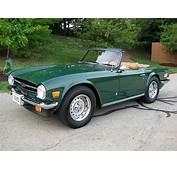 1976 Triumph TR6 For Sale Cincinnati Ohio