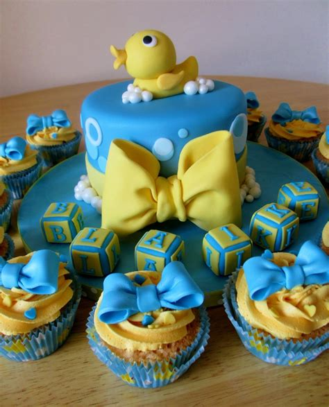 Yellow Duck Baby Shower Decorations by Baby Shower Cake Lil Quack Theme Yellow Rubber Duck And
