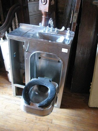 toilet sink combo for sale this is unusual stainless steel folding toilet sink
