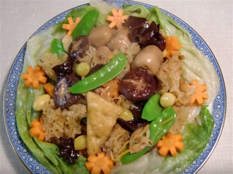 new year jai monks food new year luck foods insider