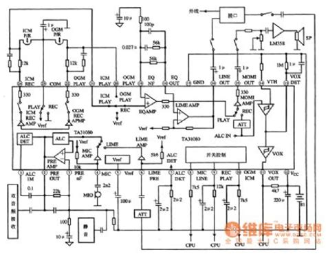 how does an integrated circuit signal information ta31080 the integrated process circuit of analog audio
