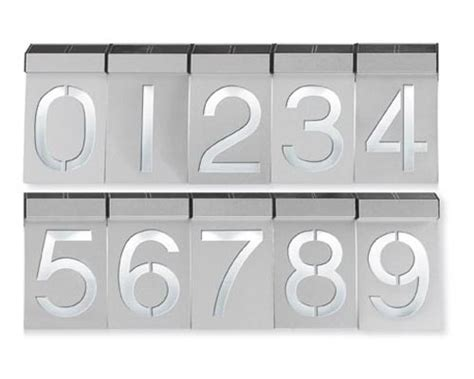 design milk address modern house numbers design milk