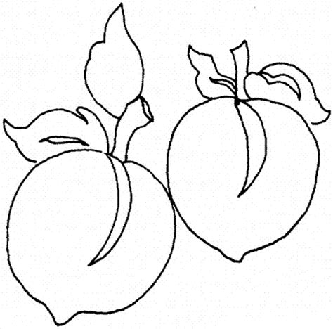 peaches coloring pages picture learn to coloring