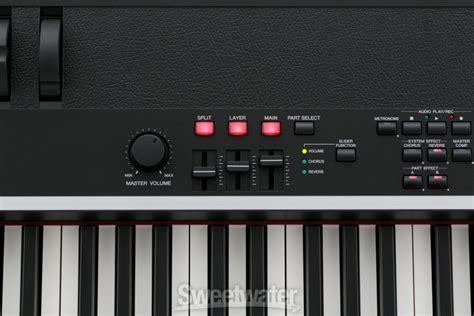 Keyboard Yamaha Cp4 yamaha announces cp4 digital piano insync sweetwater