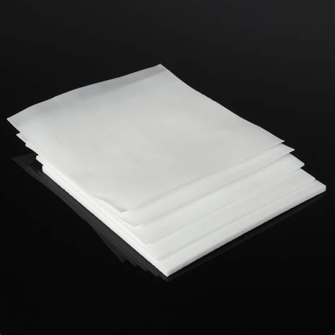 Teflon Sheet other industrial equipment 100x100mm white ptfe plastic