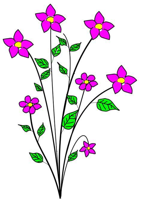 Flowers bunch flower clipart pictures png 252 42 kb flowers flower