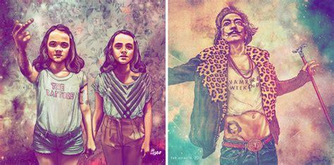 imagenes hipster de frida kahlo yo no hago estas ilustraciones pero s 237 que hago otras