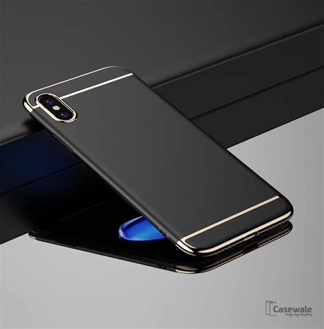 Oppo F1s Sand Scrub Cover Ultra Thin Black luxury gold plating 3 in 1 for apple iphone x