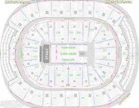 air canada center seat map toronto air canada centre detailed seat row numbers