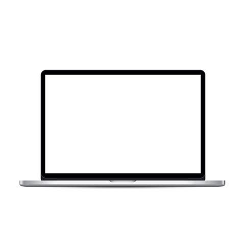 Computer Screen Template laptop template with blank screen