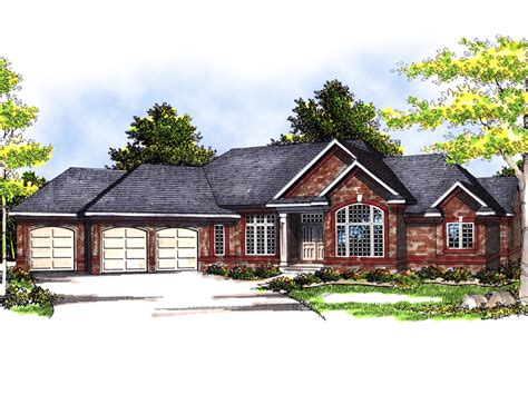 angled ranch house plans ranch house plans with angled garage