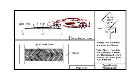 speed table vs speed hump speed hump design pixshark com images galleries