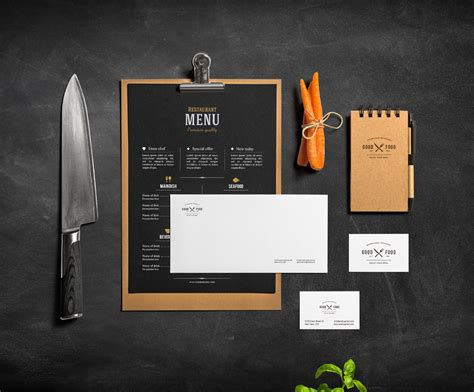 menu design mockup 15 restaurant menu mockups freecreatives