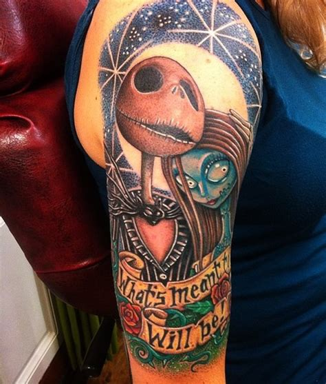 tattoo or nightmares 40 cool nightmare before christmas tattoos designs