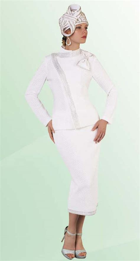 liorah knits liorah knits 7206 white womens knit suits expressurway