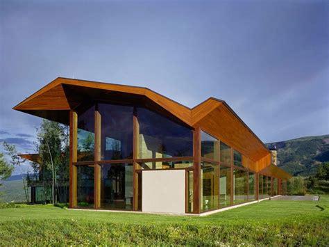 imposing contemporary home in aspen colorado mountain modern in aspen colorado contemporist