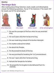 king s quiz solomon joash josiah jehoshaphat kids