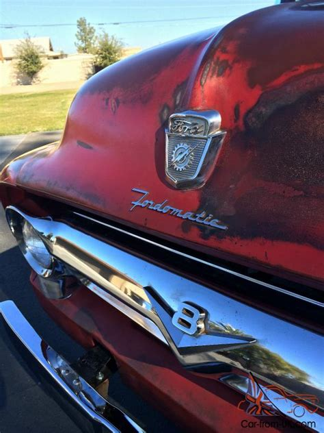 ford  pickup truck red patina original rat